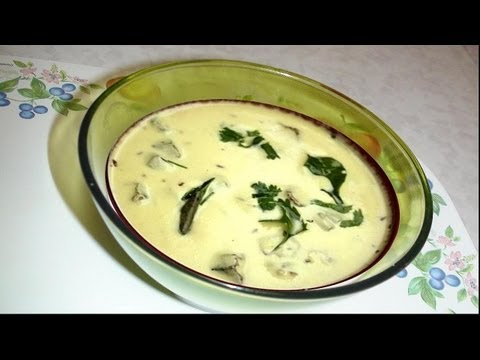 Healthy Gujarati Kadhi Recipe Video- Hot Yogurt Soup by Bhavna...