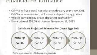 CAL‐MAINE FOODS INCORPORATED - Fall 2015