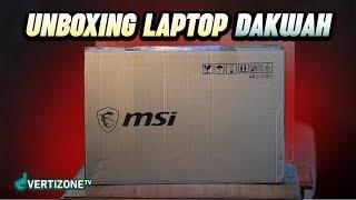 UNBOXING Laptop Amanah dari hamba Allah