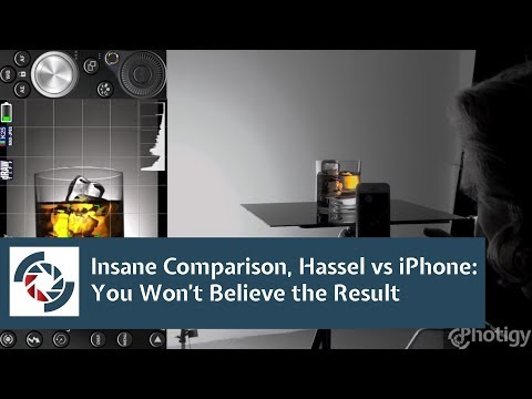 iPhone as a camera for a studio product photographer: screw Hasselblad!