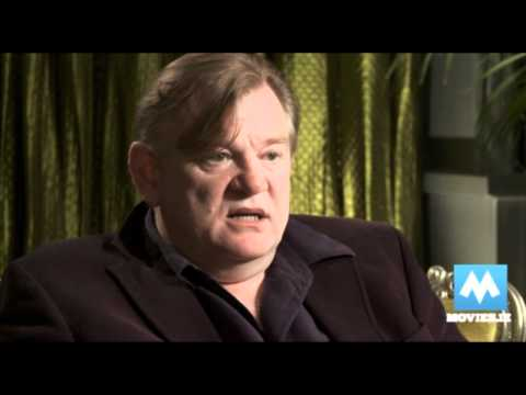 Brendan Gleeson star of THE GUARD & Harry Potter (Mad-Eye Moody)