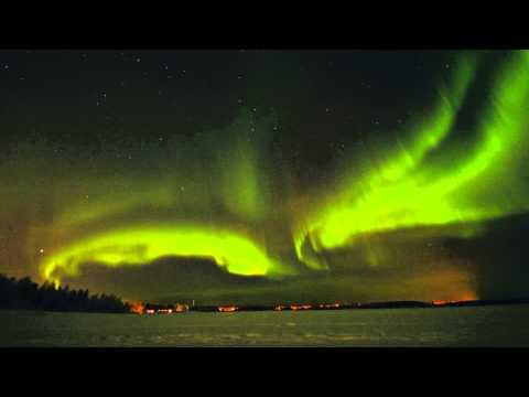 Northern Lights 24.1.2012 (Solar Storm) Ylläs, Lapland Finland