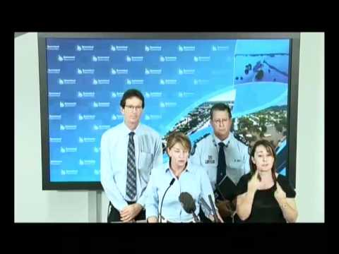 Media Conference - The flooding in Southern Queensland worsens