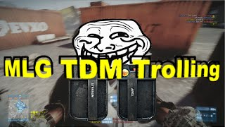 BF3 MLG TDM Troll!? Smoke&Defib Rounds Highlights