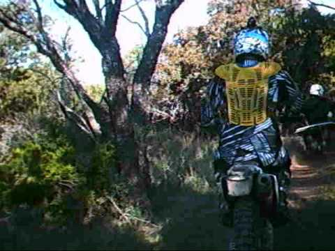 motorcycle racing the kiddy trail.wmv