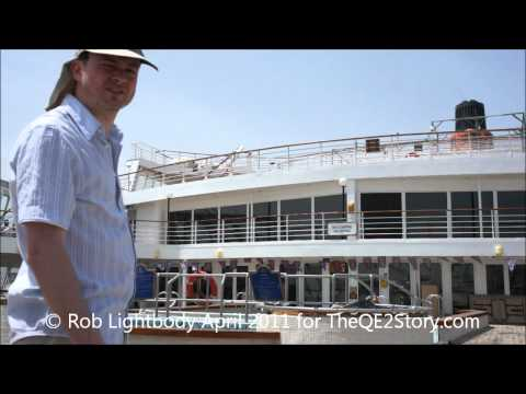 On Board QE2 April 2011, Video 2 - One Deck