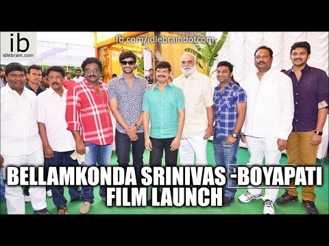 Bellamkonda Srinivas - Boyapati film launch - idlebrain.com