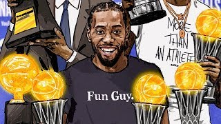 Kawhi Leonard NBA Finals Mix (Best Plays from 2019 NBA Finals)