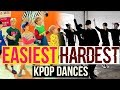 download lagu      EASIEST VS HARDEST KPOP DANCES (BTS, EXO, TWICE, RED VELVET, NCT127 AND MORE...)    gratis