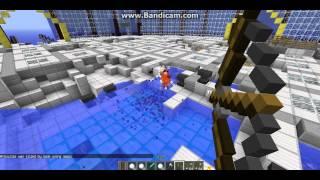 тролинг игроков в minecraft (лук и стрелы)