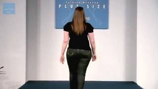 Moda Plus Size   Loony Verão 2013 @ FWPS   YouTube