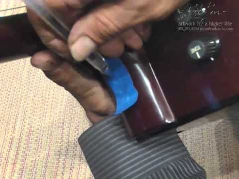 Installing a Strap - Button on your Acoustic Guitar