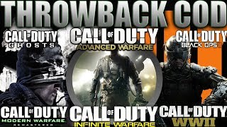 THROWBACK COD 😈 BO3, COD WWII, GHOSTS, MWR, AW and INFINITE WARFARE  in 2019 | Classic Call of Duty