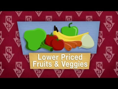 Cheaper fruits and vegetables could save lives