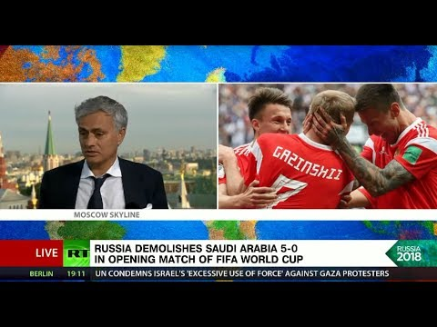 5-0: Russia opens World Cup with record-breaking win over Saudi Arabia
