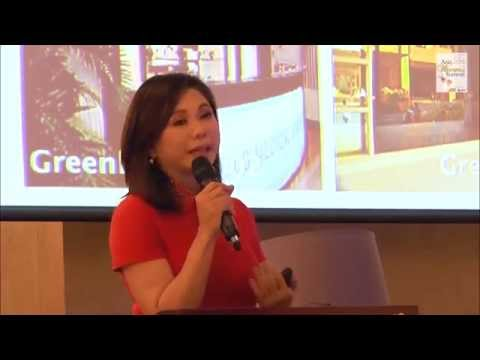Vicki Belo, CEO of Belo Medical Group speaks at Asia Womens