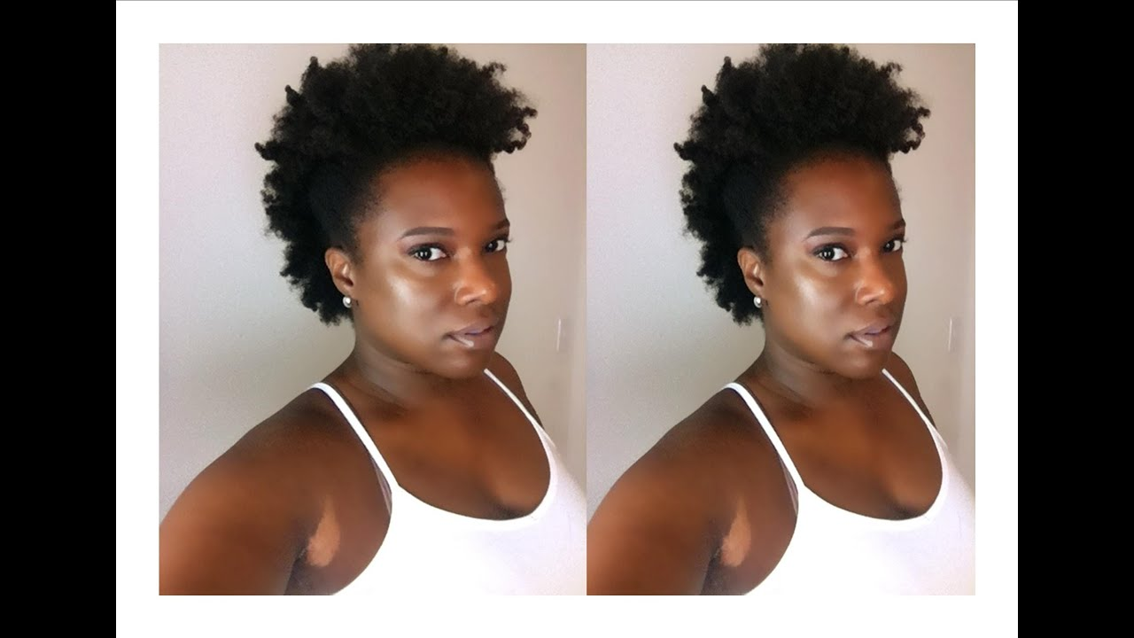 Natural Hair Twist Out Using Cantu Shea Butter Coconut
