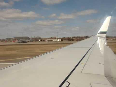 Alaska Airlines Flight 37 Boeing 737-800 Minneapolis Departure