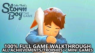 Storm Boy - 100% Full Game Walkthrough - All Achievements/Trophies (EASY 1000 + PLATINUM)