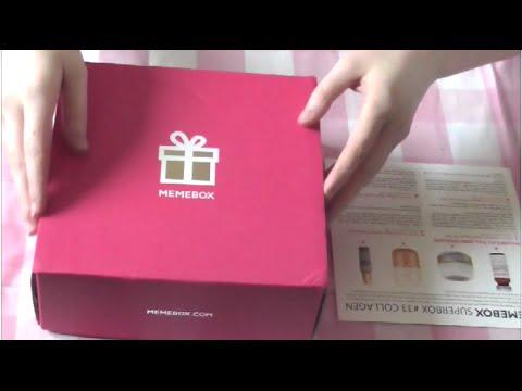 ASMR Unboxing/Review: 'Memebox Collagen' - Soft Spoken