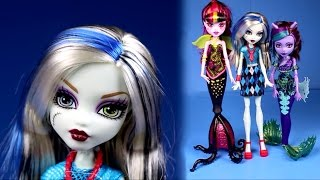 New Monster High Dolls Collection 2016 3 Dolls Scarrier Reef Unboxing Review Ever After High