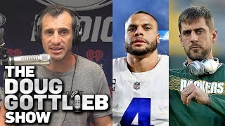 Doug Gottlieb - Aaron Rodgers is the BEST Quarterback I Have EVER Seen