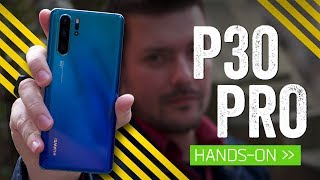 The Phone With A Periscope: Huawei P30 Pro Hands-On