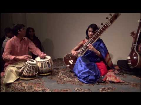 Raag Janasammohini - Alif Laila , Sangati Center , Sanfrancisco, February '13 video