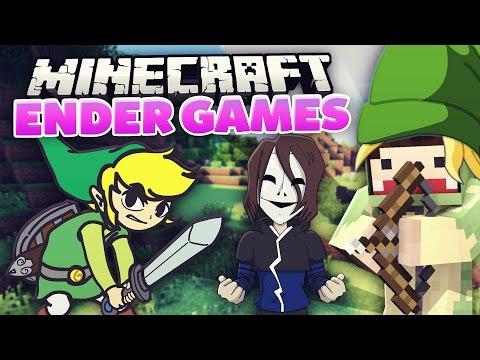 Ein Überraschungsgast! Link-Kit - Minecraft ENDER GAMES! #09 | unge