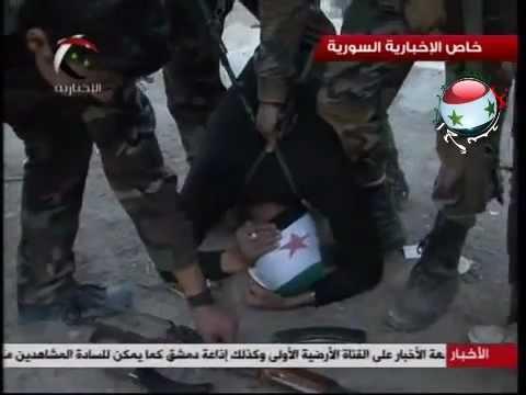 الجيش العربي السوري في ريف دمشق و القبض على إرهابي