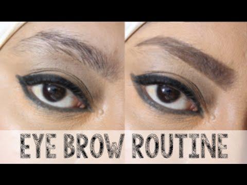 Eye Brow Tutorial, No Plucking, No Waxing, No Bleaching