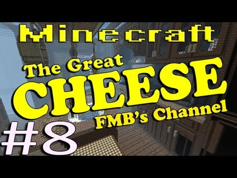 Minecraft The Great Cheese Part 8 - Sleeping With The Fishes