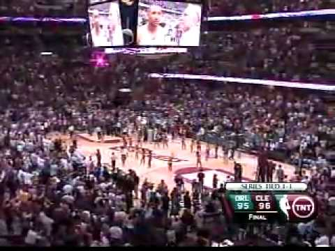 Lebron James Three-Point Buzzer Beater vs. Orlando Magic Game 2
