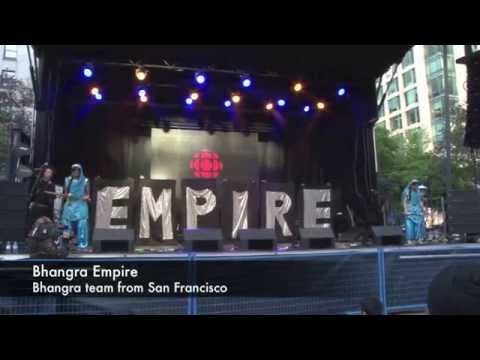 Bhangra Empire - Vibc 2014 Downtown Bhangra Day 1 video