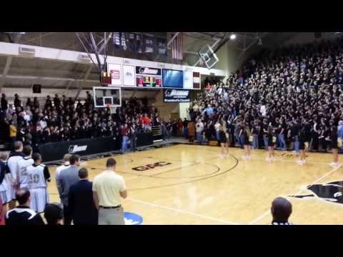 Harding University Sings National Anthem