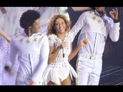 Beyoncé - Mrs Carter World Tour - London O2 Arena (3rd May)