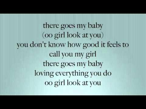 There Goes My Baby - Usher ( Lyrics On Screen ]