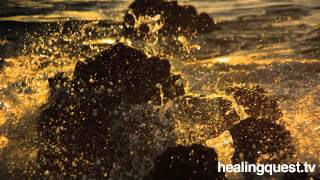 Healing Moment Sunset Seaside With David Grand