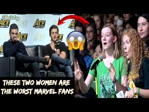 Tom Holland's Rude Fans Insult Sebastian Stan & Anthony Mackie Shuts Them Down - 2018 thumbnail