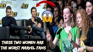 Tom Holland's Rude Fans Insult Sebastian Stan & Anthony Mackie Shuts Them Down - 2018