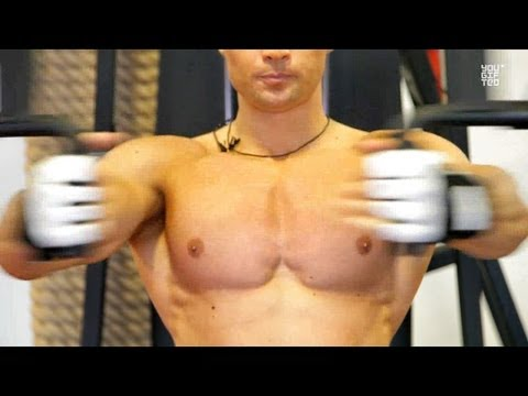 Секреты идеальных грудных мышц обучающее видео DVDRip