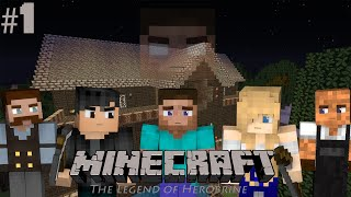 "Legend of Herobrine: Episode 1 - ""RESURGENCE"" (Minecraft Roleplay)"