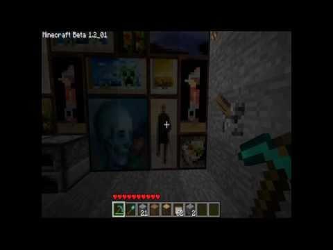 איך להכין דלת סודית ב MineCraft