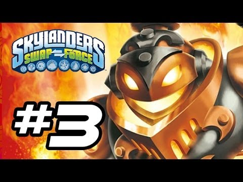 Skylanders Swap Force Gameplay Walkthrough - Part 3 - FIRE BREATH!! (Skylanders Gameplay HD)
