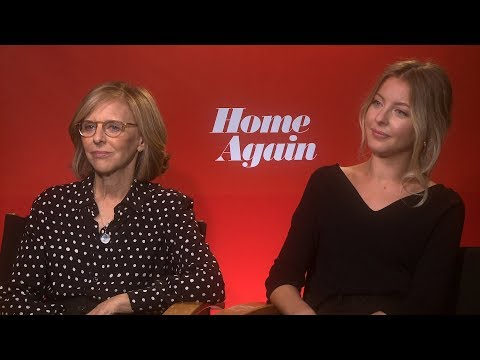 Interview With Nancy Meyers And Hallie Meyers-Shyer For Home Again