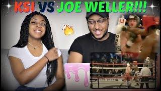 KSI VS JOE WELLER FIGHT HIGHLIGHTS REACTION!!!