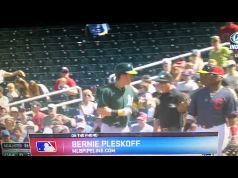 Oakland A's Rookie Mark Canha Impact
