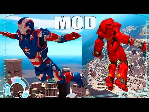 Grand Theft Auto IV - Mods Iron Man Patriot and more Armors for [Iron Man MOD]