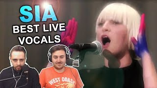 34 Sia 39 S Best Live Vocals 34 Singers Reaction