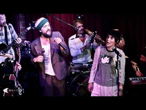 Edward Sharpe Performing man On Fire On Kcrw video